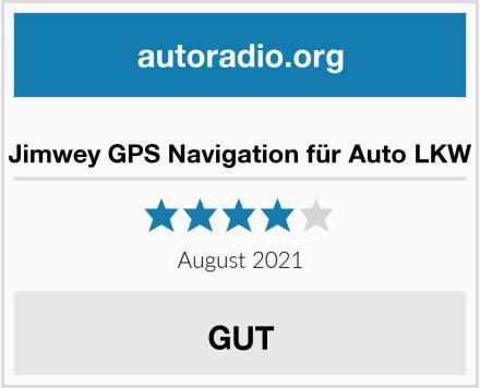 Jimwey GPS Navigation für Auto LKW Test