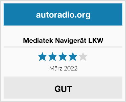 Mediatek Navigerät LKW Test