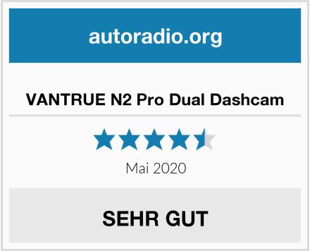 VANTRUE N2 Pro Dual Dashcam Test