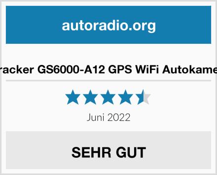 iTracker GS6000-A12 GPS WiFi Autokamera Test