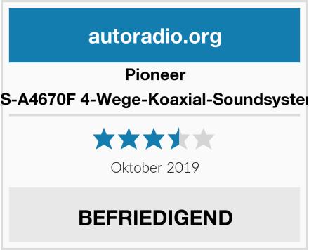 Pioneer TS-A4670F 4-Wege-Koaxial-Soundsystem Test