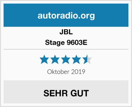 JBL Stage 9603E Test