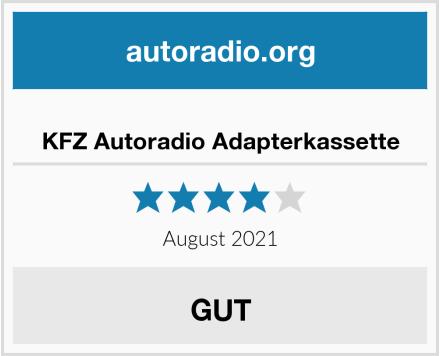 KFZ Autoradio Adapterkassette Test