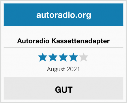 Autoradio Kassettenadapter Test