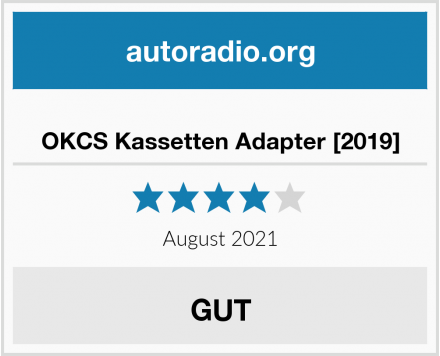 OKCS Kassetten Adapter [2019] Test