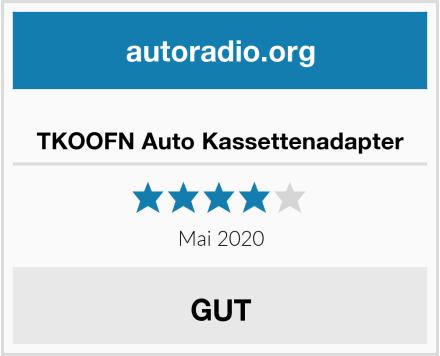 TKOOFN Auto Kassettenadapter Test