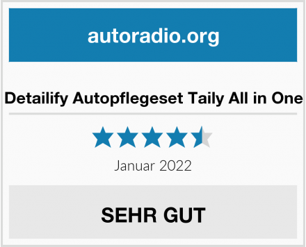Detailify Autopflegeset Taily All in One Test