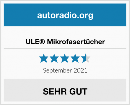 ULE® Mikrofasertücher Test