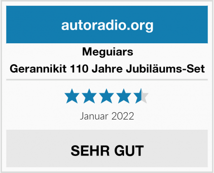 Meguiars Gerannikit 110 Jahre Jubiläums-Set Test