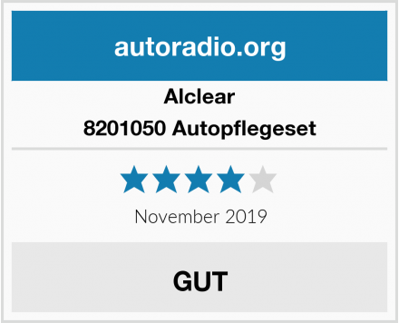 Alclear 8201050 Autopflegeset Test