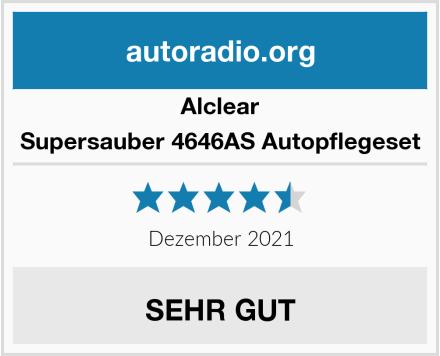 Alclear Supersauber 4646AS Autopflegeset Test