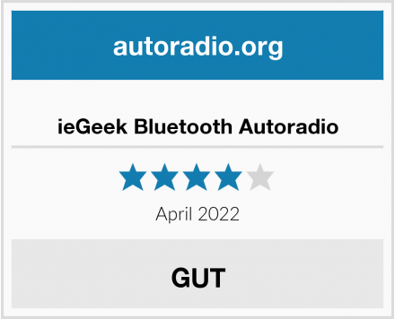 ieGeek Bluetooth Autoradio Test