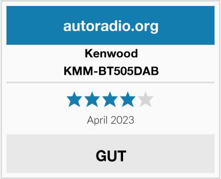 Kenwood KMM-BT505DAB Test
