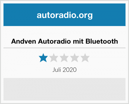 Andven Autoradio mit Bluetooth Test