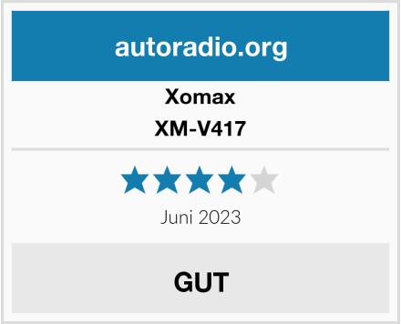 Xomax XM-V417 Test