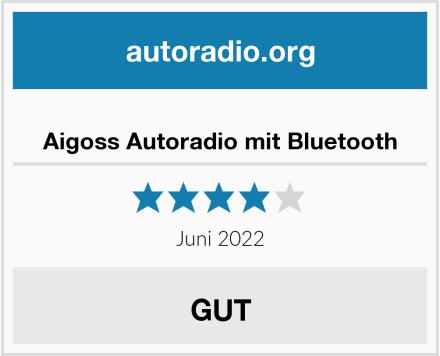 Aigoss Autoradio mit Bluetooth Test