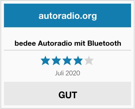 bedee Autoradio mit Bluetooth Test