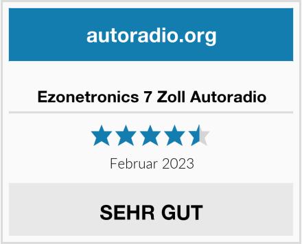 Ezonetronics 7 Zoll Autoradio Test