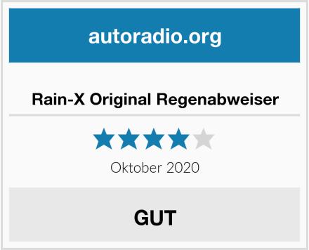 Rain-X Original Regenabweiser Test