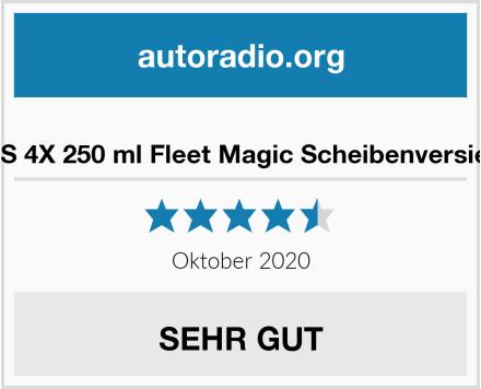 ABACUS 4X 250 ml Fleet Magic Scheibenversiegelung Test