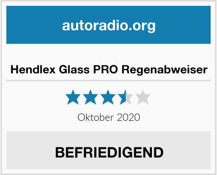 Hendlex Glass PRO Regenabweiser Test