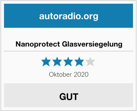 Nanoprotect Glasversiegelung Test
