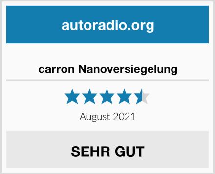 carron Nanoversiegelung Test