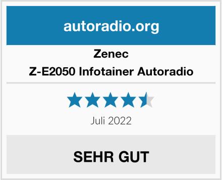 Zenec Z-E2050 Infotainer Autoradio Test