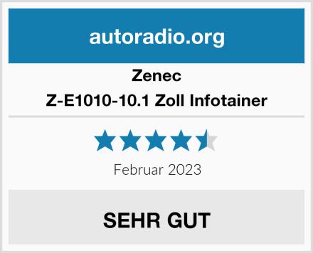 Zenec Z-E1010-10.1 Zoll Infotainer Test