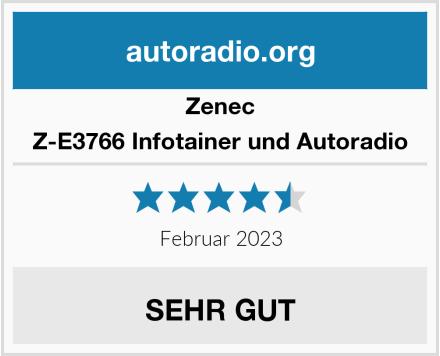 Zenec Z-E3766 Infotainer und Autoradio Test