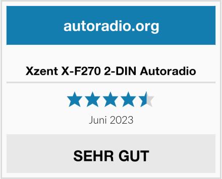Xzent X-F270 2-DIN Autoradio Test