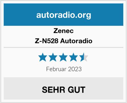 Zenec Z-N528 Autoradio Test