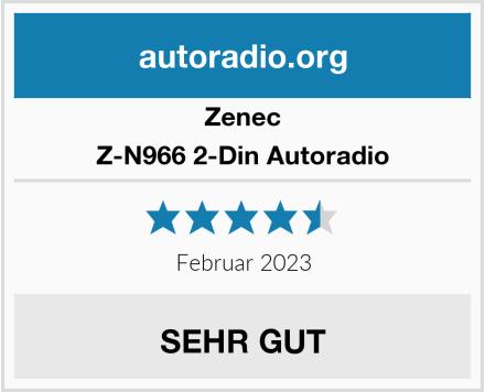 Zenec Z-N966 2-Din Autoradio Test