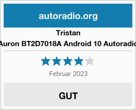 Tristan Auron BT2D7018A Android 10 Autoradio Test