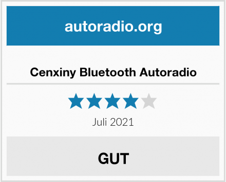 Cenxiny Bluetooth Autoradio Test