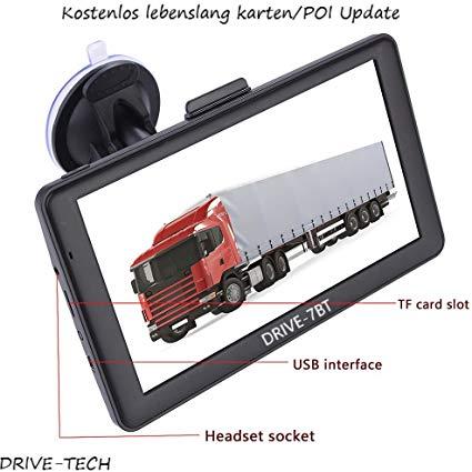 DRIVE-TECH 7 Zoll Navigationsgerät