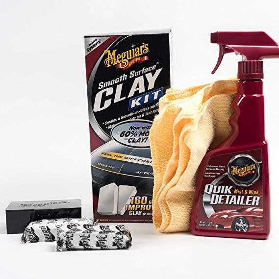 Meguiars G1016EU Smooth Surface Clay Kit