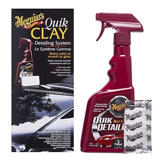 Meguiars G1116EU Quik Clay Detailing System