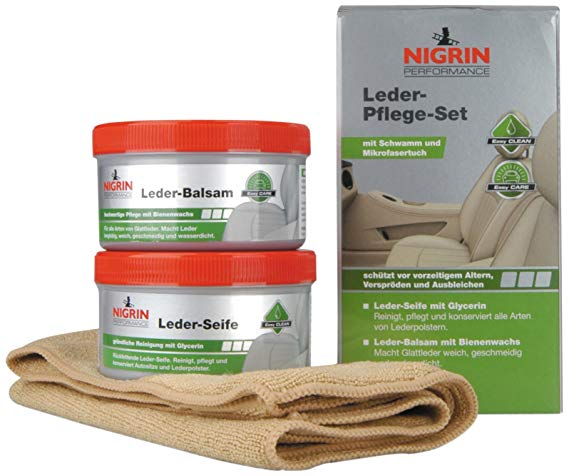 Nigrin 73170 Performance Leder-Pflege-Set