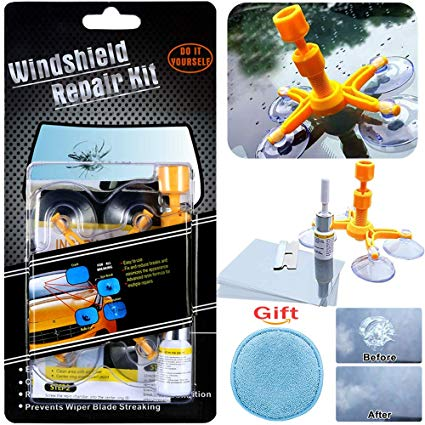 No Name Manelord Auto Windshield Repair Kit