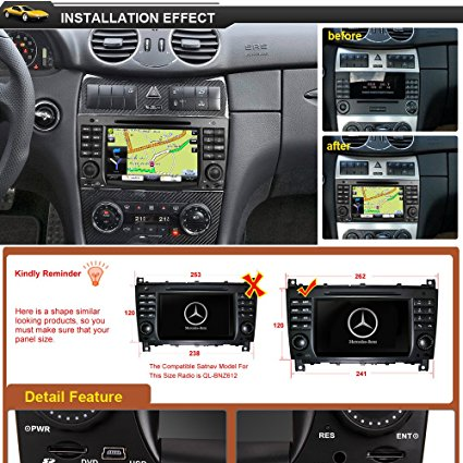 rupse auto gps navigationssystem mercedes autoradios test. Black Bedroom Furniture Sets. Home Design Ideas