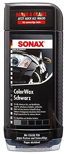 Sonax 298200 Colorwax schwarz