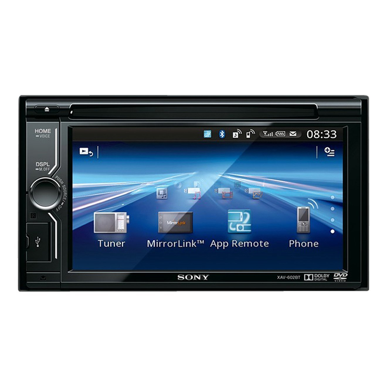 Bluetooth car stereo with wireless backup camera
