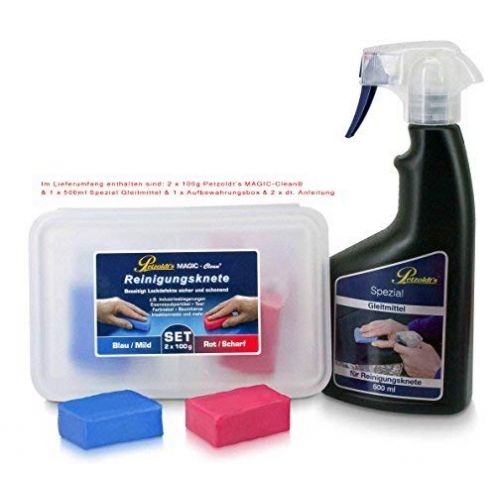Petzoldts Reinigungsknete-Gleitmittel 2er Pack