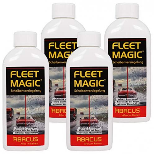 ABACUS 4X 250 ml Fleet Magic Scheibenversiegelung