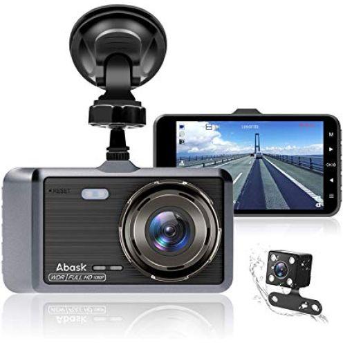 Abask Dashcam Auto Vorne und Hinten