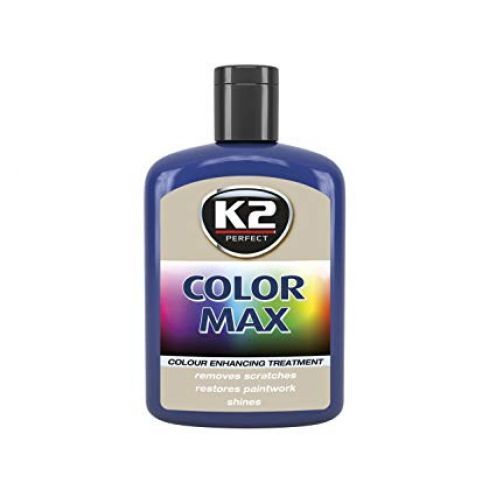 K2 COLOR MAX 200ml Blau Autowachs