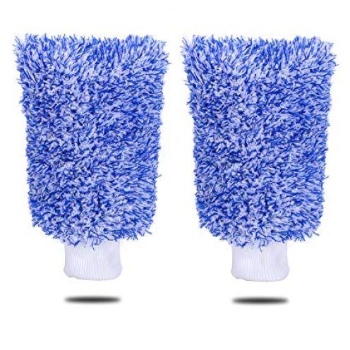 MIKAFEN Microfaser Waschhandschuh