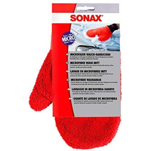 Sonax 428200 Microfaser Wasch Handschuh