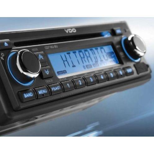 VDO 12 Volt Bluetooth Radio CD716UB-BU